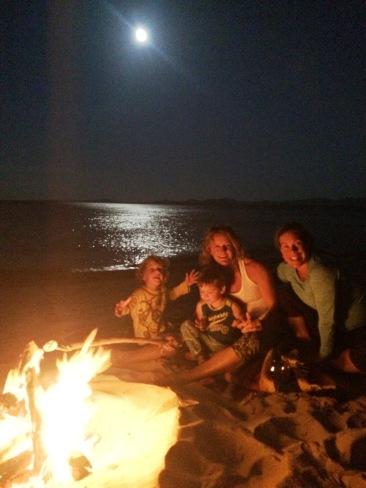 Beach Firepit