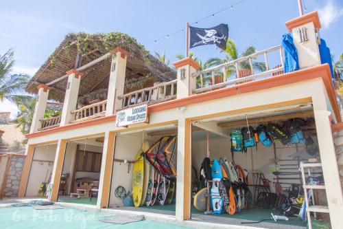 Beach gear storage
