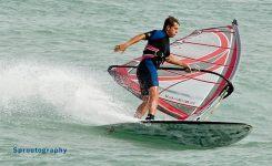 Pelican Reef windsurfing